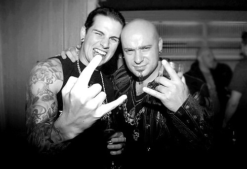 m shadows and david draiman- Sigh* i CAN'T ....