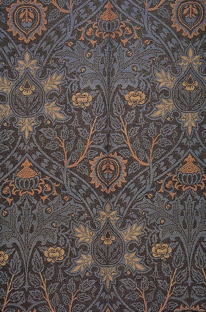 William Morris 'ispahan' 1888 by Design Decoration Craft, via Flickr