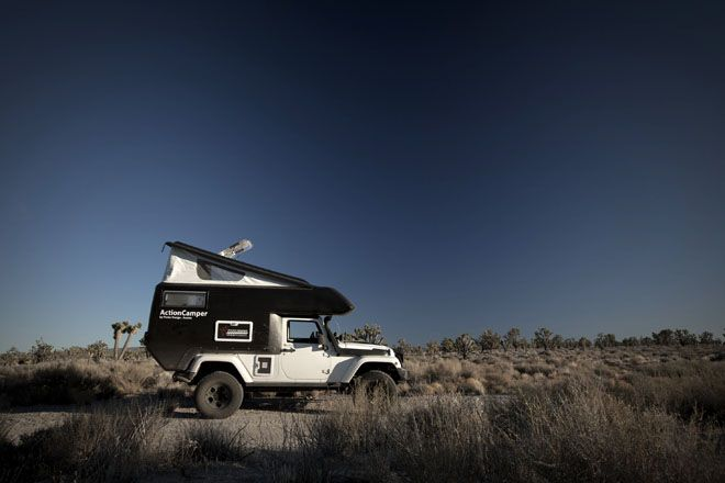 How cool is this camper?  Just another reason why a Wrangler is such a useful vehicle!