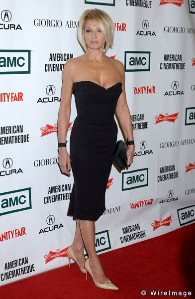 Ellen Barkin.  Because THIS is how I want to look at 50.  Or you know, now.