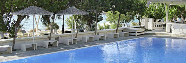 Hotell bellonia Villas på Santorini, Grekland.