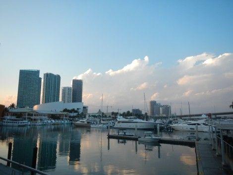 bayside+miami+agua+edificios primer viaje a miami