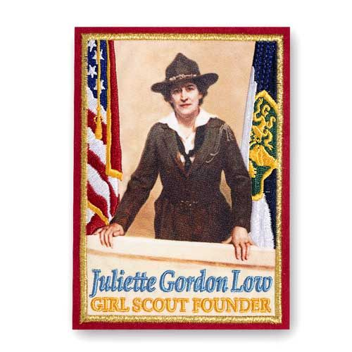 Juliette Gordon Low limited edition, oversized patch for