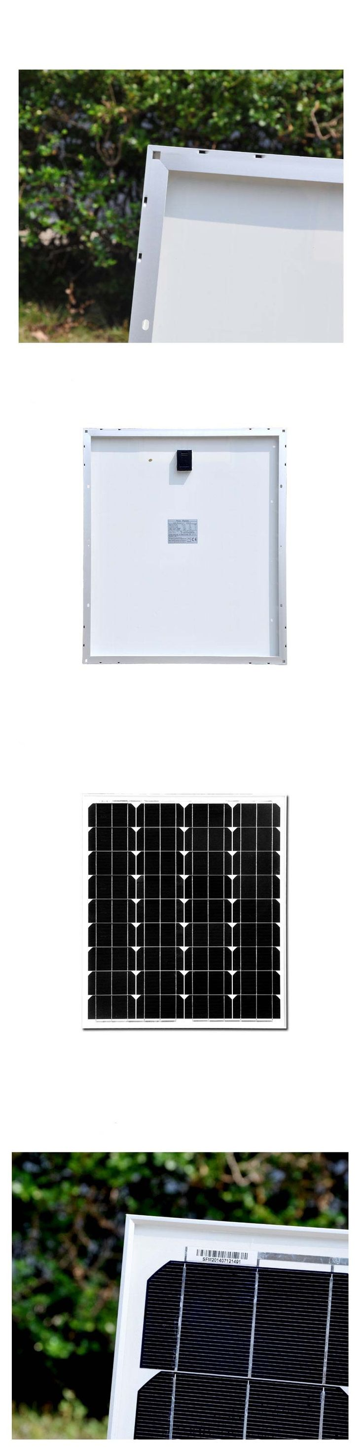 Cheap China 70 Watt 70w Monocrystalline Photovoltaic PV Solar Panel Module For Home 12 V Battery Charging  Solar Panels SFM70W