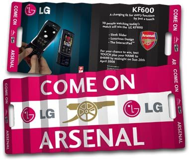 |Arsenal Clap-Banner