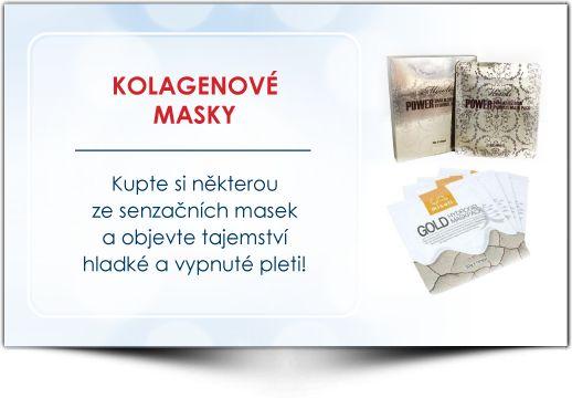 kolagenové masky - Institut Krásy