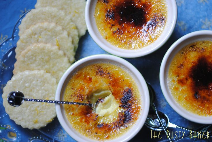 Lactose free creme brulee. My favourite dessert. Must source a kitchen torch.