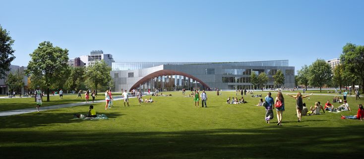 Gallery of Snøhetta Designs New Library for Temple University in Philadelphia - 6