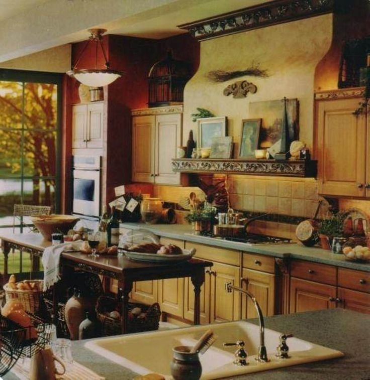 176 best italian kitchen designs images on pinterest for Italian kitchen design