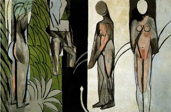 """""""Bathers by a River"""" by Matisse"""