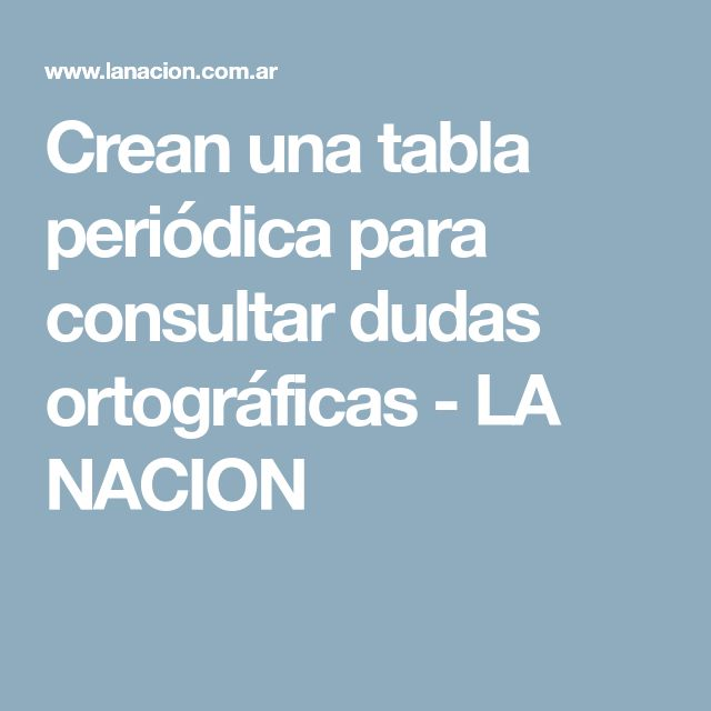 87 best Grammar images on Pinterest Learn spanish, Learning - fresh tabla periodica hecha en word