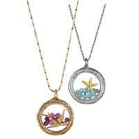 beautiful..must have!Starfish Necklaces, Stuff, Style, Starfish Lockets, Gold Starfish, Jewelry, Things, Sterling Silver Pendants, Birds Lockets