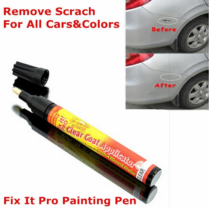 Magic Fix It Pro Painting Pen Car Scratch Remover Repair Pen Simoniz Clear Coat Applicator For Any Car Any Color Free Shipping www.peoplebazar.net    #yourhashtag