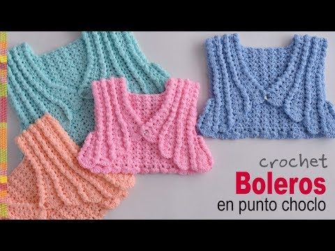 Crochet Colorful Baby Jacket Step By Step - ilove-crochet