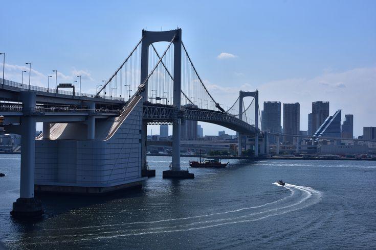 レインボーブリッジ散策~気分はブルックリン橋~