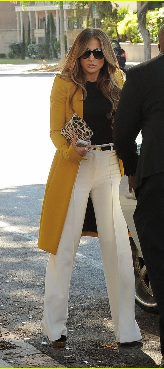 Jlo Love The Color Combination My Style Pinterest