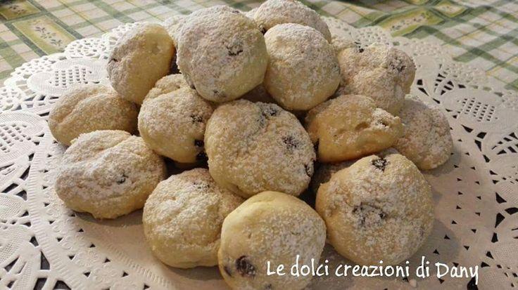 Biscottini alla ricotta con gocce di cioccolato senza uova e senza burro