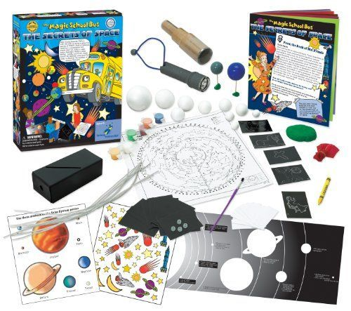 The Magic School Bus and Ms. Frizzle take Young Scientists on a wild ride into the secrets of space with spectacular experiments. Youngsters construct a night-vision flashlight design a solar system ...