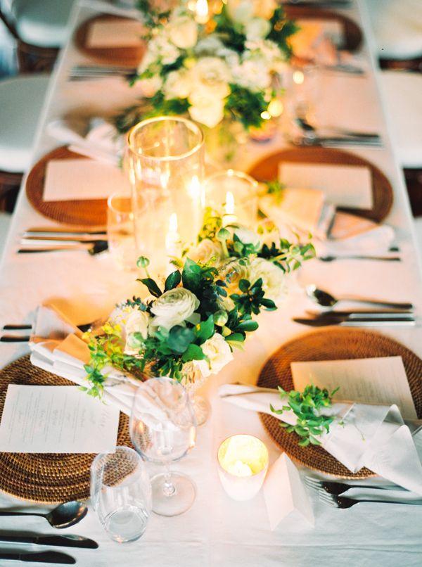 La Tavola Fine Linen Rental: Tuscany White with Topaz Fog Napkins | Planning & Design: Joy Proctor Design, Local Planning: Joe Hendranata, Venue: Como Shambhala