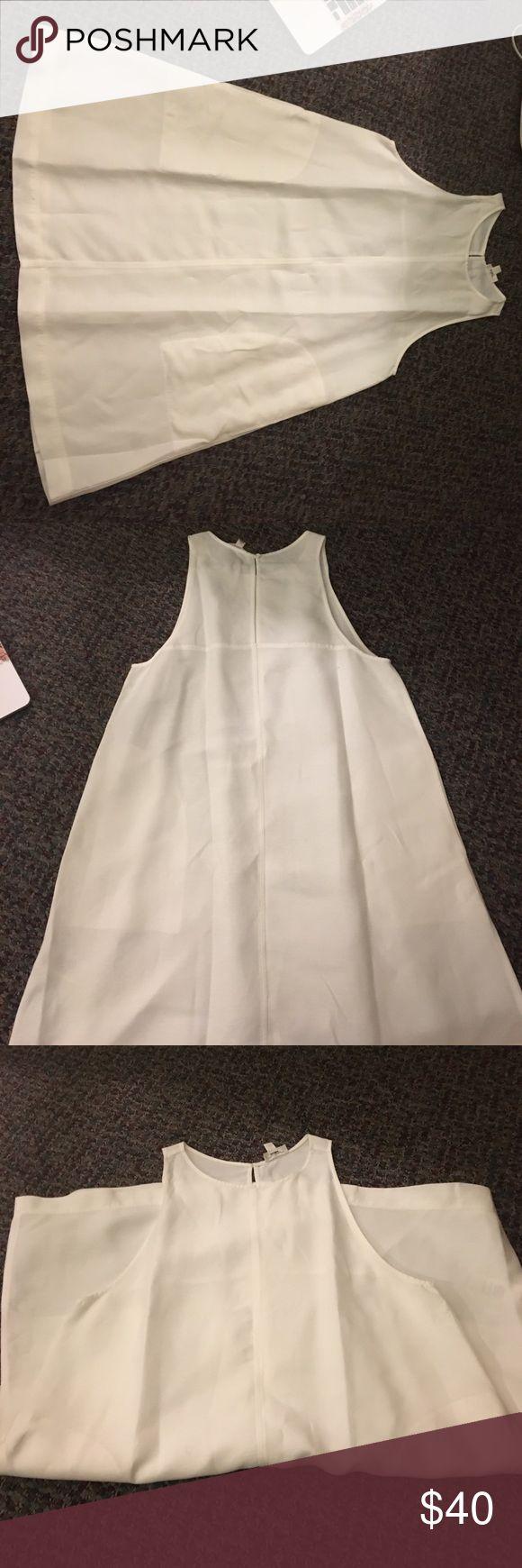 Wilfred White Dress Worn once Aritzia Dresses