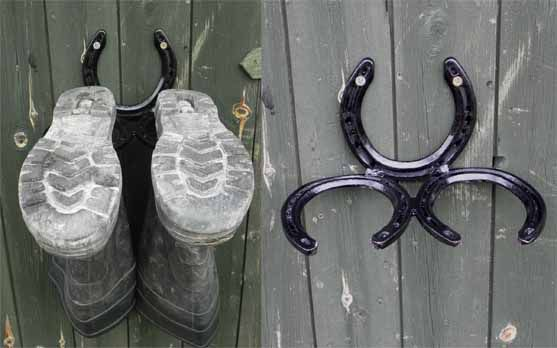 horseshoe boot rack - Google Search