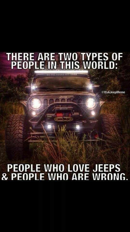 Jeep Humor (but true ;-)