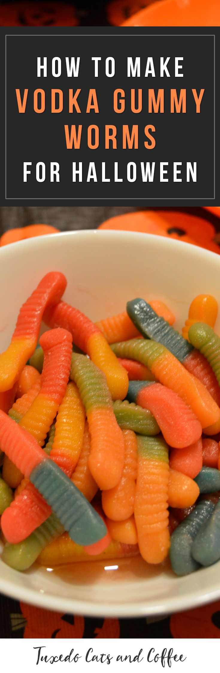 Vodka gummy worms are a delicious adult treat perfect for Halloween parties. Here's how to make vodka gummy worms for Halloween.