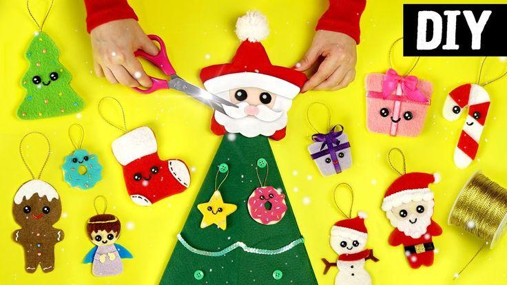 DIYs Especial de Natal #2 ⛄ Ideias Kawaii | Ft. Jessika Taynara e Edu ...