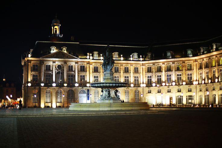Place de la Bourse #bordeaux #place #bourse #nuit