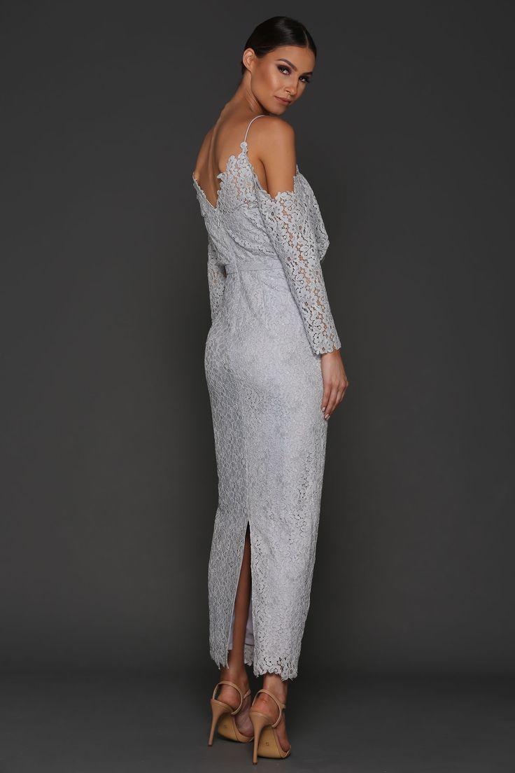 Elle Zeitoune  - Kendra Dress - Ice Silver