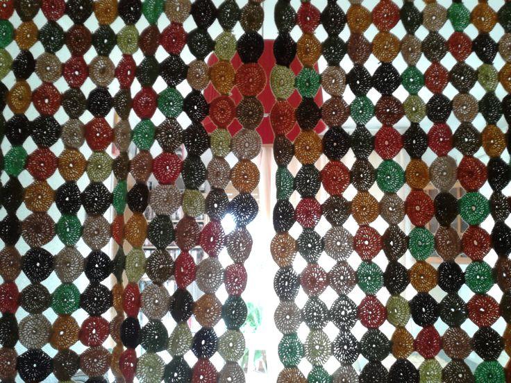 crochet curtain yoyo patch curtain ideasyo yocrochet crochet