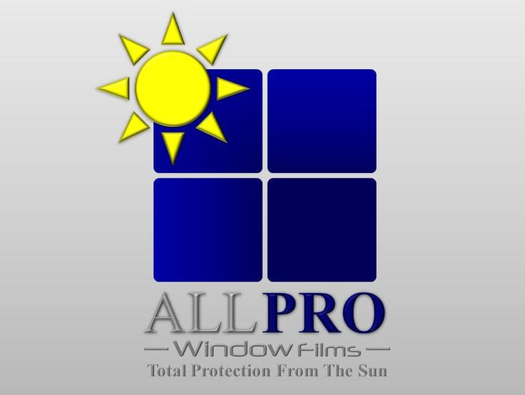 Commercial and Residential Window tinting logo and tag line. by uniteddownunder