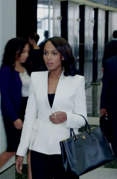In the book it talks about African American stereotypes, Olivia Pope played by Kerry Washington in Scandal is actually breaking those stereotypes by empowering black women. Her character is strong, independent, and the polar opposite of how some women who are african american are depicted in the media.