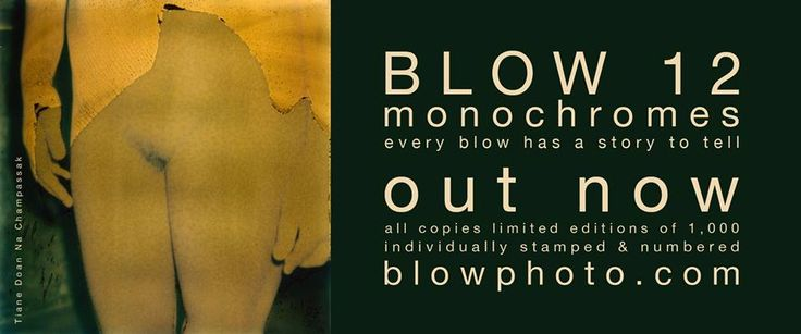 BLOW 12 'monochromes' // out now // 'why monochrome images are anything but black and white' The Irish Times // all copies limited editions of 1,000, stamped and numbered http://blowphoto.com/issues/issue-12 ‪#‎BLOWmonochromes‬ #BLOWissue12 #BLOWnewIssue
