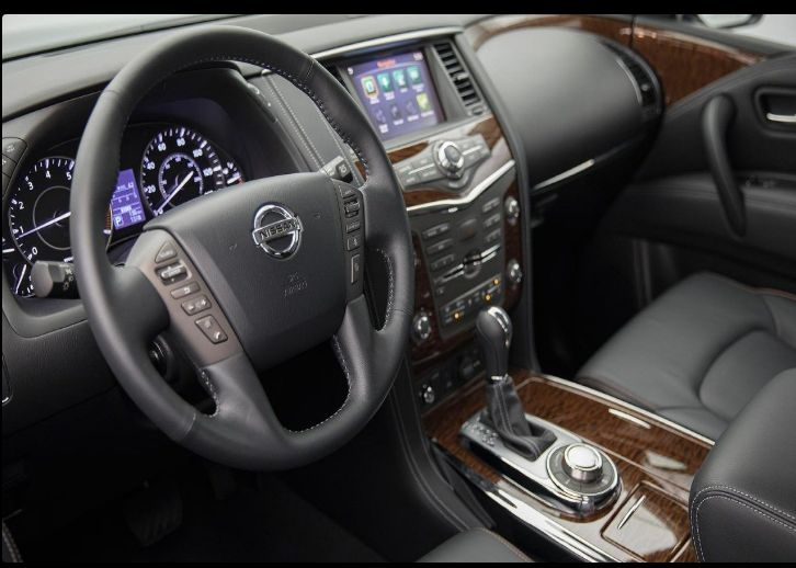 The 2018 Nissan Patrol offers outstanding style and technology both inside and out. See interior ...