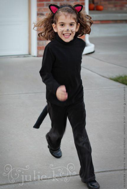black cat costume