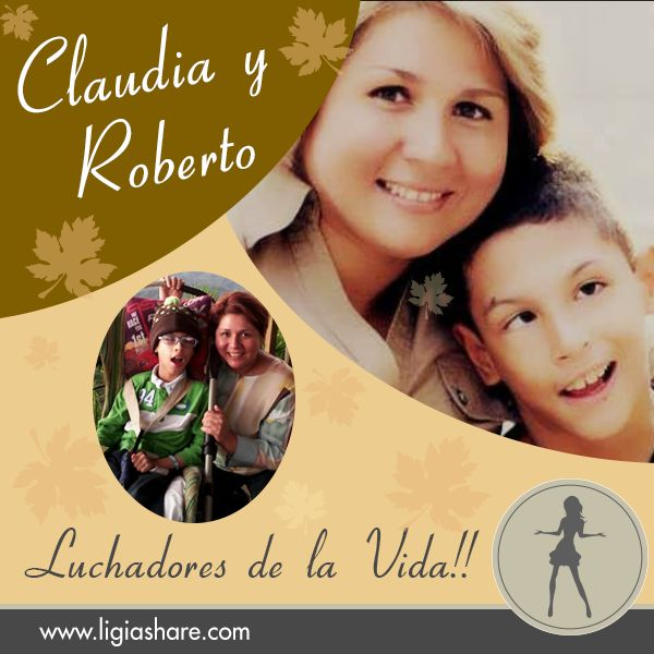 In Life there are many people who are true fighters and true heroes. I share the story of Claudia and her son Roberto, a great example that love is stronger than any difficulty ... Read and share  http://ligiashare.com/2015/02/22/el-sentido-de-la-vida/ #love #motherslove #motherandson #family #life #reallife #realhistories #vidareal #amordemadre #testimony #testimonio #latinos #hispanos
