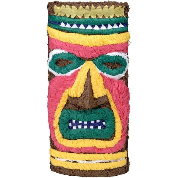 Check out Tiki Pinata (Each) - Cheap Pinatas Accessories and Decorations from…