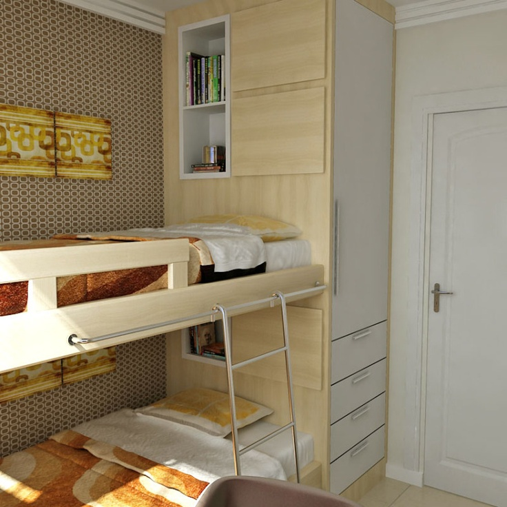 Quartos pequenos - Casa Pro