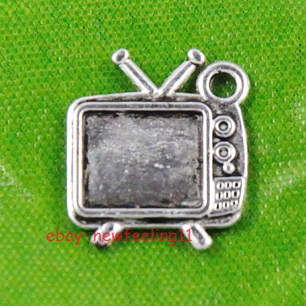 80pcs Tibetan Silver Television Charms Beads Pendant Free Shipping  | eBay!