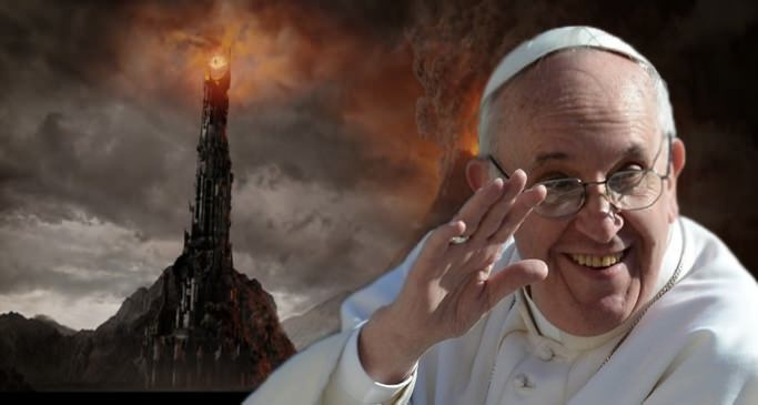 Papa Francisco lê e recomenda os livros de J.R.R.Tolkien