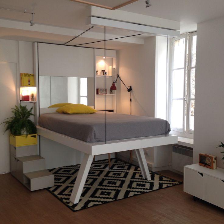Shooting Bed Up modèle Vision.  www.bedup.fr