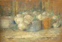 Olga Boznańska: Martwa natura, ok. 1918