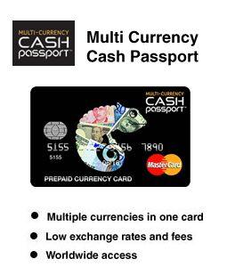 Multi Currency - Cash Passport