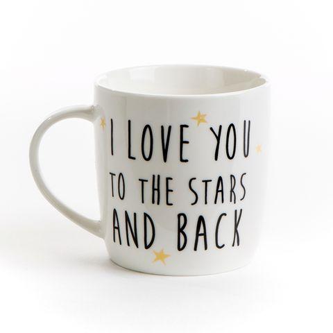 I love you to the stars and back cute mug gift