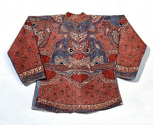 Soldier's Jacket early 18th century India (Coromandel Coast), for the Dutch market