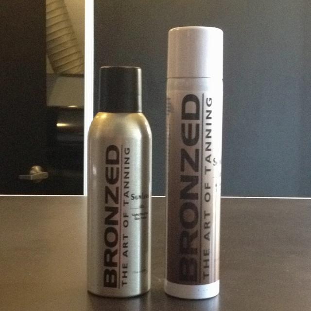 The BEST spray tan solution :)