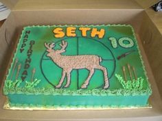 images of deer hunting cakes - Google Search