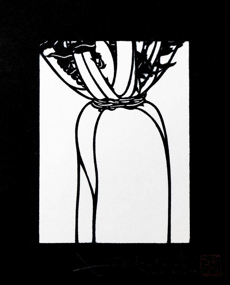 1947年生まれ。型染版画家。 日本の伝統的型染の技法を用い、くらしの中で出合う感動を大切にし「自然と生活のゆらぎ」をテーマに活動。