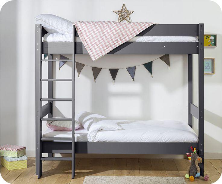 Wundervoll Desweiteren Ist Es Möglich, Das Etagenbett Clay Im Handumdrehen In Ein  Hochbett Zu Verwandeln, Um Die Bodenfläche Des Kinderzimmers Zu Optimieren.